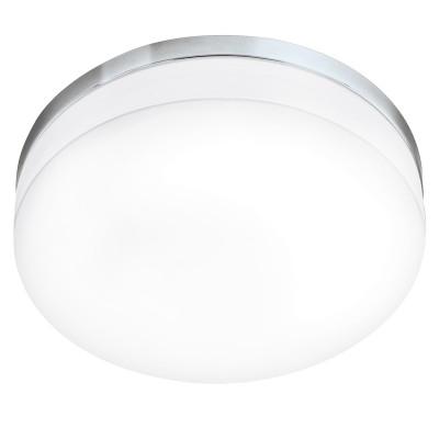 Eglo LED LORA 95002 Светильник для ванной комнатыКруглые<br>Светодиодный потолочный светильник LED LORA, 24W (LED), ?420, IP54, сталь, хром/опаловое стекло, белый применяется преимущественно в домашнем освещении с использованием стандартных выключателей и переключателей для сетей 220V.<br><br>S освещ. до, м2: 10<br>Цветовая t, К: 3000<br>Тип лампы: LED - светодиодная<br>Тип цоколя: LED<br>Цвет арматуры: серебристый<br>Количество ламп: 1<br>Диаметр, мм мм: 420<br>Глубина, мм: 90<br>MAX мощность ламп, Вт: 24