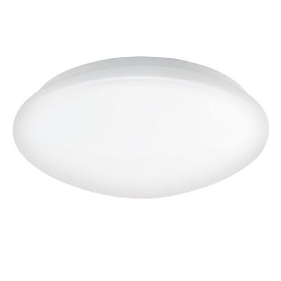 Eglo LED GIRON 95003 Светильник для ванной комнатыкруглые светильники<br>Светодиодный настенно-потол. светильник д/ванной LED GIRON, 16W (LED), ?300, IP44, сталь, белый/пластик, белый применяется преимущественно в домашнем освещении с использованием стандартных выключателей и переключателей для сетей 220V.<br><br>S освещ. до, м2: 6<br>Цветовая t, К: 3000<br>Тип лампы: LED - светодиодная<br>Тип цоколя: LED<br>Цвет арматуры: белый<br>Количество ламп: 1<br>Диаметр, мм мм: 300<br>Глубина, мм: 70<br>MAX мощность ламп, Вт: 16