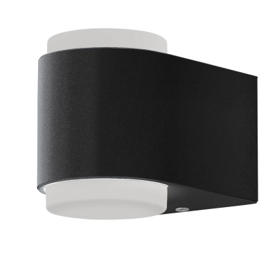 Eglo BRIONES 95078 Уличный светодиодный настенный светильникНастенные<br>Обеспечение качественного уличного освещения – важная задача для владельцев коттеджей. Компания «Светодом» предлагает современные светильники, которые порадуют Вас отличным исполнением. В нашем каталоге представлена продукция известных производителей, пользующихся популярностью благодаря высокому качеству выпускаемых товаров.   Уличный светильник Eglo 95078 не просто обеспечит качественное освещение, но и станет украшением Вашего участка. Модель выполнена из современных материалов и имеет влагозащитный корпус, благодаря которому ей не страшны осадки.   Купить уличный светильник Eglo 95078, представленный в нашем каталоге, можно с помощью онлайн-формы для заказа. Чтобы задать имеющиеся вопросы, звоните нам по указанным телефонам.<br><br>Цветовая t, К: 3000<br>Тип цоколя: LED - светодиодная<br>MAX мощность ламп, Вт: 2X3W<br>Глубина, мм: 125<br>Длина, мм: 85<br>Высота, мм: 95<br>Цвет арматуры: антрацит