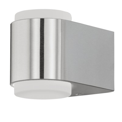 Eglo BRIONES 95079 Уличный светодиодный настенный светильникНастенные<br>Обеспечение качественного уличного освещения – важная задача для владельцев коттеджей. Компания «Светодом» предлагает современные светильники, которые порадуют Вас отличным исполнением. В нашем каталоге представлена продукция известных производителей, пользующихся популярностью благодаря высокому качеству выпускаемых товаров.   Уличный светильник Eglo 95079 не просто обеспечит качественное освещение, но и станет украшением Вашего участка. Модель выполнена из современных материалов и имеет влагозащитный корпус, благодаря которому ей не страшны осадки.   Купить уличный светильник Eglo 95079, представленный в нашем каталоге, можно с помощью онлайн-формы для заказа. Чтобы задать имеющиеся вопросы, звоните нам по указанным телефонам.<br><br>Цветовая t, К: 3000<br>Тип цоколя: LED - светодиодная<br>MAX мощность ламп, Вт: 2X3W<br>Глубина, мм: 125<br>Длина, мм: 85<br>Высота, мм: 95<br>Цвет арматуры: сталь