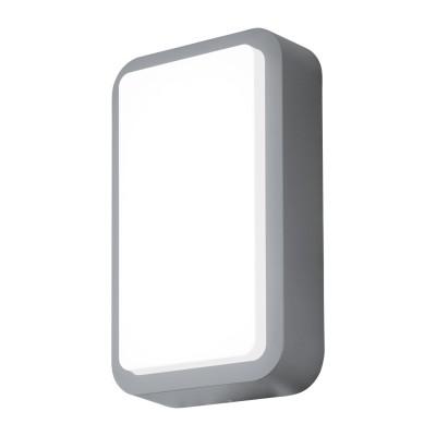 Eglo TROSONO 95105 Уличный светодиодный настенный светильникУличные потолочные светильники<br>Обеспечение качественного уличного освещения – важная задача для владельцев коттеджей. Компания «Светодом» предлагает современные светильники, которые порадуют Вас отличным исполнением. В нашем каталоге представлена продукция известных производителей, пользующихся популярностью благодаря высокому качеству выпускаемых товаров.   Уличный светильник Eglo 95105 не просто обеспечит качественное освещение, но и станет украшением Вашего участка. Модель выполнена из современных материалов и имеет влагозащитный корпус, благодаря которому ей не страшны осадки.   Купить уличный светильник Eglo 95105, представленный в нашем каталоге, можно с помощью онлайн-формы для заказа. Чтобы задать имеющиеся вопросы, звоните нам по указанным телефонам.<br><br>Цветовая t, К: 3000<br>Тип цоколя: LED - светодиодная<br>Цвет арматуры: серебряный<br>Глубина, мм: 75<br>Длина, мм: 180<br>Высота, мм: 300<br>MAX мощность ламп, Вт: 12W