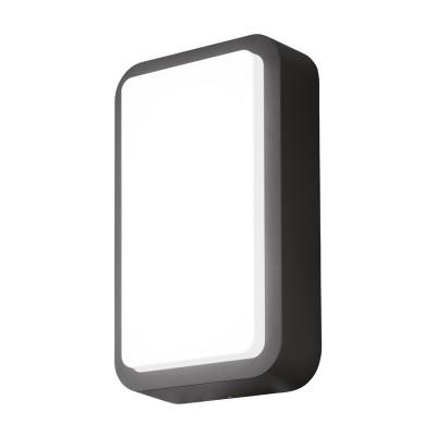 Eglo TROSONO 95106 Уличный светодиодный настенный светильникНастенные<br>Обеспечение качественного уличного освещения – важная задача для владельцев коттеджей. Компания «Светодом» предлагает современные светильники, которые порадуют Вас отличным исполнением. В нашем каталоге представлена продукция известных производителей, пользующихся популярностью благодаря высокому качеству выпускаемых товаров.   Уличный светильник Eglo 95106 не просто обеспечит качественное освещение, но и станет украшением Вашего участка. Модель выполнена из современных материалов и имеет влагозащитный корпус, благодаря которому ей не страшны осадки.   Купить уличный светильник Eglo 95106, представленный в нашем каталоге, можно с помощью онлайн-формы для заказа. Чтобы задать имеющиеся вопросы, звоните нам по указанным телефонам.<br><br>Цветовая t, К: 3000<br>Тип цоколя: LED - светодиодная<br>Цвет арматуры: антрацит<br>Глубина, мм: 75<br>Длина, мм: 180<br>Высота, мм: 300<br>MAX мощность ламп, Вт: 12W