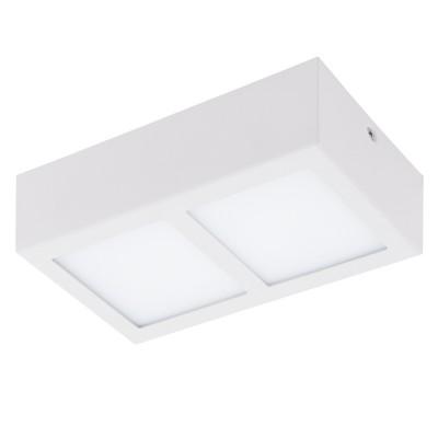 Eglo COLEGIO 95201 накладные светильникиПрямоугольные<br>Светодиодный накладной светильник СOLEGIO, 2x4,2W (LED), 215x115, сталь, белый/пластик, белый применяется преимущественно в домашнем освещении с использованием стандартных выключателей и переключателей для сетей 220V.<br><br>S освещ. до, м2: 3<br>Цветовая t, К: 3000<br>Тип лампы: LED - светодиодная<br>Тип цоколя: LED<br>Цвет арматуры: белый<br>Количество ламп: 2<br>Ширина, мм: 115<br>Длина, мм: 215<br>Высота, мм: 60<br>MAX мощность ламп, Вт: 4