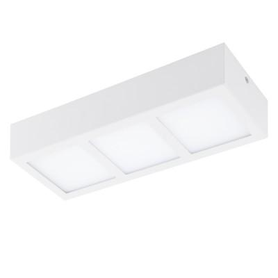 Eglo COLEGIO 95202 накладные светильникиПрямоугольные<br>Светодиодный накладной светильник СOLEGIO, 3x4,2W (LED), 315x115, сталь, белый/пластик, белый применяется преимущественно в домашнем освещении с использованием стандартных выключателей и переключателей для сетей 220V.<br><br>S освещ. до, м2: 5<br>Цветовая t, К: 3000<br>Тип лампы: LED - светодиодная<br>Тип цоколя: LED<br>Цвет арматуры: белый<br>Количество ламп: 3<br>Ширина, мм: 115<br>Длина, мм: 315<br>Высота, мм: 60<br>MAX мощность ламп, Вт: 4