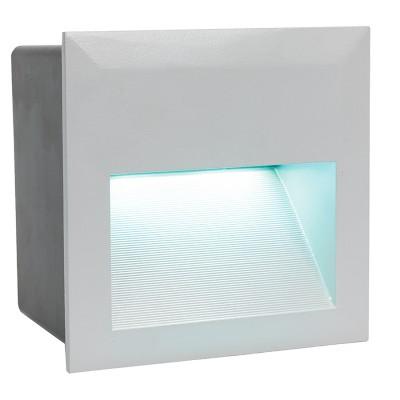 Eglo ZIMBA-LED 95235 светильник уличныйВстраиваемые<br>Обеспечение качественного уличного освещения – важная задача для владельцев коттеджей. Компания «Светодом» предлагает современные светильники, которые порадуют Вас отличным исполнением. В нашем каталоге представлена продукция известных производителей, пользующихся популярностью благодаря высокому качеству выпускаемых товаров.   Уличный светильник Eglo 95235 не просто обеспечит качественное освещение, но и станет украшением Вашего участка. Модель выполнена из современных материалов и имеет влагозащитный корпус, благодаря которому ей не страшны осадки.   Купить уличный светильник Eglo 95235, представленный в нашем каталоге, можно с помощью онлайн-формы для заказа. Чтобы задать имеющиеся вопросы, звоните нам по указанным телефонам.<br><br>Цветовая t, К: 4000 (белый)<br>Тип лампы: LED<br>Тип цоколя: LED-MODUL<br>Ширина, мм: 140<br>MAX мощность ламп, Вт: 3,7<br>Диаметр врезного отверстия, мм: 133x130<br>Длина, мм: 140<br>Высота, мм: 5<br>Цвет арматуры: серебристый<br>Общая мощность, Вт: 29