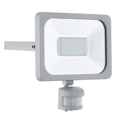 Eglo FAEDO 1 95409 светильник уличныйCветодиодные<br><br><br>Тип товара: светильник уличный<br>Скидка, %: 14<br>Цветовая t, К: 6500 (холодный белый)<br>Тип лампы: LED<br>Тип цоколя: LED<br>MAX мощность ламп, Вт: 30<br>Длина, мм: 205<br>Расстояние от стены, мм: 50<br>Высота, мм: 235<br>Оттенок (цвет): прозрачный<br>Цвет арматуры: серебристый<br>Общая мощность, Вт: 2