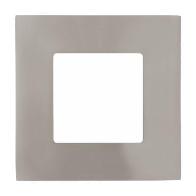 Eglo FUEVA 1 95466 Встраиваемый светильникКвадратные LED<br>Светодиодная ультратонкая встраиваемая панель FUEVA 1, 2,7W (LED) 4000K, 85х85, никель применяется преимущественно в домашнем освещении с использованием стандартных выключателей и переключателей для сетей 220V.<br><br>Цветовая t, К: 4000<br>Тип лампы: LED - светодиодная<br>Тип цоколя: LED<br>Цвет арматуры: никель матовый<br>Количество ламп: 1<br>Ширина, мм: 85<br>Длина, мм: 85<br>MAX мощность ламп, Вт: 3