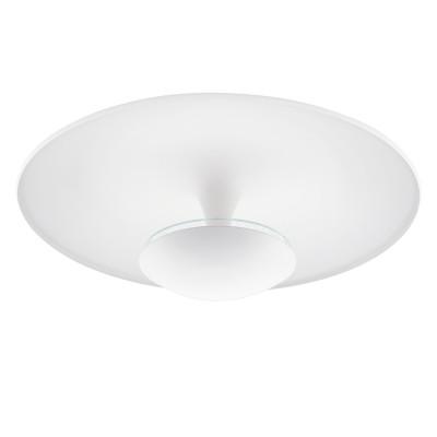 Eglo TORONJA 95487 Настенно-потолочный светильник LEDкруглые светильники<br>Светодиодный потолочный светильник TORONJA, 24W(LED), ?550, сталь, белый применяется преимущественно в домашнем освещении с использованием стандартных выключателей и переключателей для сетей 220V.<br><br>S освещ. до, м2: 10<br>Цветовая t, К: 3000<br>Тип лампы: LED - светодиодная<br>Тип цоколя: LED<br>Цвет арматуры: белый<br>Количество ламп: 1<br>Диаметр, мм мм: 550<br>Высота, мм: 205<br>MAX мощность ламп, Вт: 24
