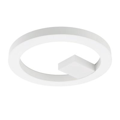 Eglo ALVENDRE-S 95613 Настенно-потолочный светильникКруглые<br>Светодиодный настенно-потолочный светильник ALVENDRE-S Умное освещ., 28W(LED), ?480, пластик, белый/пластик, белый применяется преимущественно в домашнем освещении с использованием стандартных выключателей и переключателей для сетей 220V.<br><br>S освещ. до, м2: 11<br>Цветовая t, К: 2765<br>Тип лампы: LED - светодиодная<br>Тип цоколя: LED<br>Цвет арматуры: белый<br>Количество ламп: 1<br>Диаметр, мм мм: 480<br>Высота, мм: 40<br>MAX мощность ламп, Вт: 28