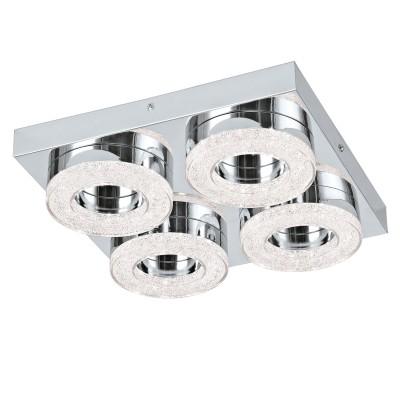 Настенно-потолочный светильник Eglo 95664 FRADELO, Австрия, сталь  - Купить