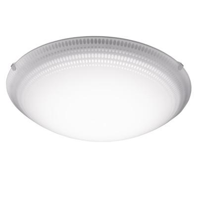 Eglo MAGITTA 1 95673 Настенно-потолочный светильникКруглые<br>Светодиодный настенно-потолочный светильник MAGITTA 1, 11W(LED), ?315, сталь, белый/стекло, белый, прозрачный применяется преимущественно в домашнем освещении с использованием стандартных выключателей и переключателей для сетей 220V.<br><br>S освещ. до, м2: 6<br>Цветовая t, К: 3000<br>Тип лампы: LED - светодиодная<br>Тип цоколя: LED<br>Цвет арматуры: белый<br>Количество ламп: 1<br>Диаметр, мм мм: 315<br>Глубина, мм: 95<br>MAX мощность ламп, Вт: 16