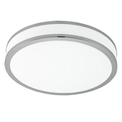 Eglo PALERMO 2 95682 Настенно-потолочный светильникКруглые<br>Светодиодный настенно-потолочный светильник PALERMO 2, 18W(LED), ?280, сталь, белый/пластик, белый, хром применяется преимущественно в домашнем освещении с использованием стандартных выключателей и переключателей для сетей 220V.<br><br>S освещ. до, м2: 7<br>Цветовая t, К: 3000<br>Тип лампы: LED - светодиодная<br>Тип цоколя: LED<br>Цвет арматуры: белый<br>Количество ламп: 1<br>Диаметр, мм мм: 280<br>Высота, мм: 70<br>MAX мощность ламп, Вт: 18