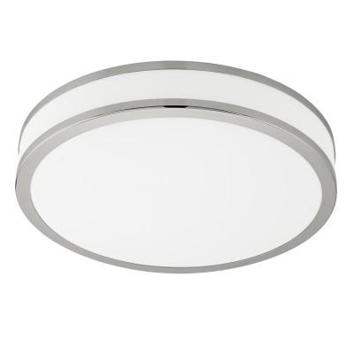 Eglo PALERMO 3 95683 Настенно-потолочный светильникКруглые<br>Светодиодный настенно-потолочный светильник PALERMO 3 с димм., 18W(LED), ?280, сталь, белый/пластик, белый, хром применяется преимущественно в домашнем освещении с использованием стандартных выключателей и переключателей для сетей 220V.<br><br>S освещ. до, м2: 7<br>Цветовая t, К: 3540<br>Тип лампы: LED - светодиодная<br>Тип цоколя: LED<br>Цвет арматуры: белый<br>Количество ламп: 1<br>Диаметр, мм мм: 280<br>Высота, мм: 70<br>MAX мощность ламп, Вт: 18