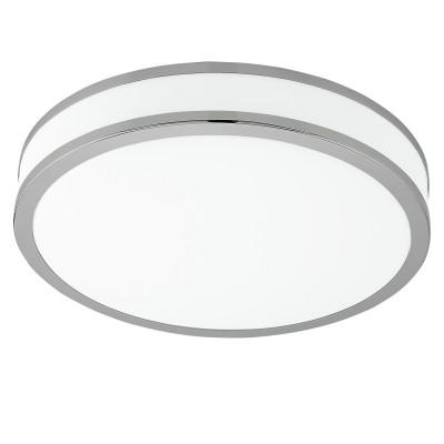 Eglo PALERMO 2 95684 Настенно-потолочный светильникКруглые<br>Светодиодный настенно-потолочный светильник PALERMO 2, 24W(LED), ?410, сталь, белый/пластик, белый, хром применяется преимущественно в домашнем освещении с использованием стандартных выключателей и переключателей для сетей 220V.<br><br>S освещ. до, м2: 10<br>Цветовая t, К: 3000<br>Тип лампы: LED - светодиодная<br>Тип цоколя: LED<br>Количество ламп: 1<br>MAX мощность ламп, Вт: 24<br>Диаметр, мм мм: 410<br>Высота, мм: 60<br>Цвет арматуры: белый