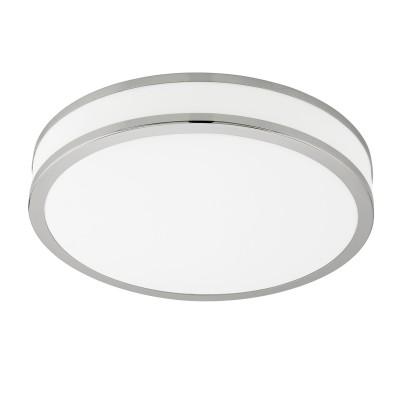 Eglo PALERMO 3 95685 Настенно-потолочный светильникКруглые<br>Светодиодный настенно-потолочный светильник PALERMO 3 с димм., 22W(LED), ?410, сталь, белый/пластик, белый, хром применяется преимущественно в домашнем освещении с использованием стандартных выключателей и переключателей для сетей 220V.<br><br>S освещ. до, м2: 9<br>Цветовая t, К: 3540<br>Тип лампы: LED - светодиодная<br>Тип цоколя: LED<br>Количество ламп: 1<br>MAX мощность ламп, Вт: 22<br>Диаметр, мм мм: 410<br>Высота, мм: 60<br>Цвет арматуры: белый