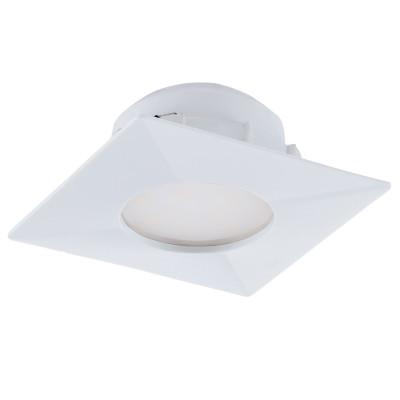 Eglo PINEDA 95797 Встраиваемый светильникКвадратные LED<br>Светодиодный встраиваемый светильник PINEDA, 1х6W(LED), 78х78, пластик, белый применяется преимущественно в домашнем освещении с использованием стандартных выключателей и переключателей для сетей 220V.<br><br>Цветовая t, К: 3000<br>Тип лампы: LED - светодиодная<br>Тип цоколя: LED<br>Количество ламп: 1<br>Ширина, мм: 78<br>MAX мощность ламп, Вт: 6<br>Длина, мм: 78<br>Цвет арматуры: белый
