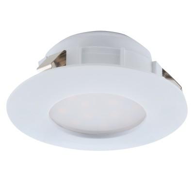 Eglo PINEDA 95817 Встраиваемый светильникКруглые LED<br>Светодиодный встраиваемый светильник PINEDA, 1х6W(LED), ?78, IP44, пластик, белый применяется преимущественно в домашнем освещении с использованием стандартных выключателей и переключателей для сетей 220V.<br><br>Цветовая t, К: 3000<br>Тип лампы: LED - светодиодная<br>Тип цоколя: LED<br>Цвет арматуры: белый<br>Количество ламп: 1<br>Диаметр, мм мм: 78<br>MAX мощность ламп, Вт: 6