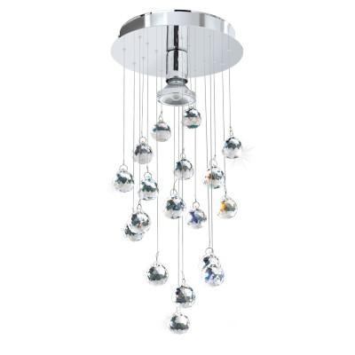 Eglo LUXY LED 95834 накладные светильникихрустальные потолочные люстры<br>Cветодиод. наклад. светильник LUXY LED, 1х3,3W(GU10), ?190, H480, cталь, хром/хрусталь, прозрачный применяется преимущественно в домашнем освещении с использованием стандартных выключателей и переключателей для сетей 220V.<br><br>Установка на натяжной потолок: Да<br>S освещ. до, м2: 2<br>Тип лампы: LED - светодиодная<br>Тип цоколя: GU10<br>Цвет арматуры: серебристый хром<br>Количество ламп: 1<br>Диаметр, мм мм: 190<br>Высота, мм: 480<br>MAX мощность ламп, Вт: 4