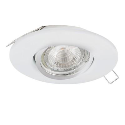 Eglo PENETO 1 95894 Встраиваемый светильникКруглые встраиваемые светильники<br>Светодиодный встраиваемый светильник PENETO 1 регулир., 1х3W(GU10), ?108, сталь белый применяется преимущественно в домашнем освещении с использованием стандартных выключателей и переключателей для сетей 220V.<br><br>Тип лампы: LED - светодиодная<br>Тип цоколя: GU10<br>Цвет арматуры: белый<br>Количество ламп: 1<br>Диаметр, мм мм: 108<br>MAX мощность ламп, Вт: 3