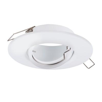 Eglo PENETO 1 95903 Встраиваемый светильникКруглые LED<br>Встраиваемый светильник PENETO 1 регулир., 1х50W(GU10), ?108, сталь, хром применяется преимущественно в домашнем освещении с использованием стандартных выключателей и переключателей для сетей 220V.<br><br>Тип цоколя: GU10<br>Цвет арматуры: белый<br>Количество ламп: 1<br>Диаметр, мм мм: 108<br>MAX мощность ламп, Вт: 50