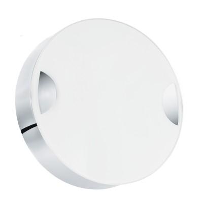 Настенно-потолочный светильник Eglo 95966 CUPELLAкруглые светильники<br>Светодиодный настенно-потолочный светильник CUPELLA, 11W(LED), ?150, сталь, хром/стекло, белый применяется преимущественно в домашнем освещении с использованием стандартных выключателей и переключателей для сетей 220V.