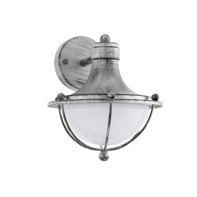 Eglo MONASTERIO 95978 Уличный светильник настенныйНастенные<br>Обеспечение качественного уличного освещения – важная задача для владельцев коттеджей. Компания «Светодом» предлагает современные светильники, которые порадуют Вас отличным исполнением. В нашем каталоге представлена продукция известных производителей, пользующихся популярностью благодаря высокому качеству выпускаемых товаров.   Уличный светильник Eglo 95978 не просто обеспечит качественное освещение, но и станет украшением Вашего участка. Модель выполнена из современных материалов и имеет влагозащитный корпус, благодаря которому ей не страшны осадки.   Купить уличный светильник Eglo 95978, представленный в нашем каталоге, можно с помощью онлайн-формы для заказа. Чтобы задать имеющиеся вопросы, звоните нам по указанным телефонам.<br>