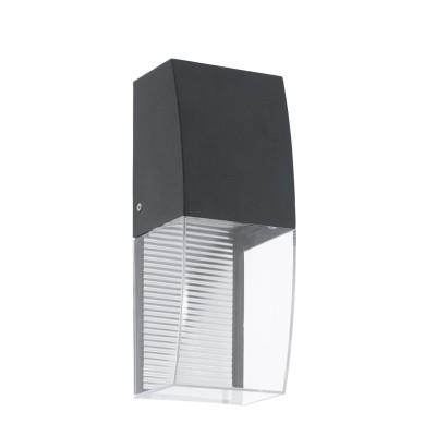Eglo SERVOI 95992 Уличный светодиодный светильник настенныйНастенные<br>Обеспечение качественного уличного освещения – важная задача для владельцев коттеджей. Компания «Светодом» предлагает современные светильники, которые порадуют Вас отличным исполнением. В нашем каталоге представлена продукция известных производителей, пользующихся популярностью благодаря высокому качеству выпускаемых товаров.   Уличный светильник Eglo 95992 не просто обеспечит качественное освещение, но и станет украшением Вашего участка. Модель выполнена из современных материалов и имеет влагозащитный корпус, благодаря которому ей не страшны осадки.   Купить уличный светильник Eglo 95992, представленный в нашем каталоге, можно с помощью онлайн-формы для заказа. Чтобы задать имеющиеся вопросы, звоните нам по указанным телефонам. Мы доставим Ваш заказ не только в Москву и Екатеринбург, но и другие города.<br><br>Тип лампы: LED - светодиодная