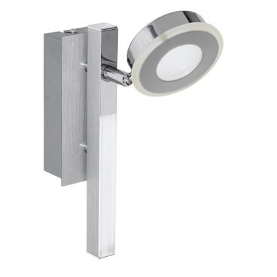 Eglo CARDILLIO 95996 Светодиодный спотХай-тек<br>Светодиодный спот c доп. подсветкой CARDILLIO, 1х3,3W(LED), 1х2,2W(LED), L225, алюм., сталь, хром/пластик, матовый применяется преимущественно в домашнем освещении с использованием стандартных выключателей и переключателей для сетей 220V.<br><br>Цветовая t, К: 3000<br>Тип лампы: LED - светодиодная<br>Тип цоколя: LED<br>Цвет арматуры: серебристый алюминий, хром<br>Количество ламп: 1<br>Ширина, мм: 65<br>Длина, мм: 225<br>MAX мощность ламп, Вт: 3
