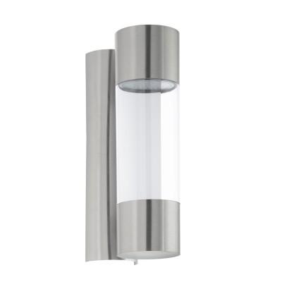 Eglo ROBLEDO 96013 Уличный светодиодный светильник настенныйНастенные<br>Обеспечение качественного уличного освещения – важная задача для владельцев коттеджей. Компания «Светодом» предлагает современные светильники, которые порадуют Вас отличным исполнением. В нашем каталоге представлена продукция известных производителей, пользующихся популярностью благодаря высокому качеству выпускаемых товаров.   Уличный светильник Eglo 96013 не просто обеспечит качественное освещение, но и станет украшением Вашего участка. Модель выполнена из современных материалов и имеет влагозащитный корпус, благодаря которому ей не страшны осадки.   Купить уличный светильник Eglo 96013, представленный в нашем каталоге, можно с помощью онлайн-формы для заказа. Чтобы задать имеющиеся вопросы, звоните нам по указанным телефонам.<br><br>Тип лампы: LED - светодиодная