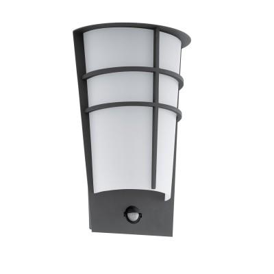 Eglo BREGANZO 1 96018 Уличный светодиодный светильник настенныйНастенные<br>Обеспечение качественного уличного освещения – важная задача для владельцев коттеджей. Компания «Светодом» предлагает современные светильники, которые порадуют Вас отличным исполнением. В нашем каталоге представлена продукция известных производителей, пользующихся популярностью благодаря высокому качеству выпускаемых товаров.   Уличный светильник Eglo 96018 не просто обеспечит качественное освещение, но и станет украшением Вашего участка. Модель выполнена из современных материалов и имеет влагозащитный корпус, благодаря которому ей не страшны осадки.   Купить уличный светильник Eglo 96018, представленный в нашем каталоге, можно с помощью онлайн-формы для заказа. Чтобы задать имеющиеся вопросы, звоните нам по указанным телефонам.<br><br>Тип лампы: LED - светодиодная