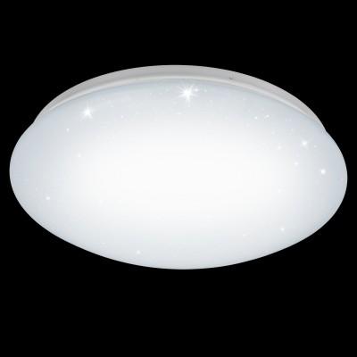 Eglo GIRON-S 96027 Настенно-потолочный светильникКруглые<br>Светодиодный настенно-потолочный светильник GIRON-S, 11W(LED), ?300, сталь, белый/пластик с эф. хрусталя, белый применяется преимущественно в домашнем освещении с использованием стандартных выключателей и переключателей для сетей 220V.<br><br>S освещ. до, м2: 4<br>Цветовая t, К: 3000<br>Тип лампы: LED - светодиодная<br>Тип цоколя: LED<br>Цвет арматуры: белый<br>Количество ламп: 1<br>Диаметр, мм мм: 300<br>Высота, мм: 95<br>MAX мощность ламп, Вт: 11