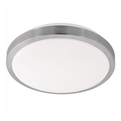 Eglo COMPETA 1 96033 Настенно-потолочный светильникКруглые<br>Светодиодный настенно-потолочный светильник COMPETA 1, 22W(LED), ?325, сталь, белый/пластик, белый, никель мат. применяется преимущественно в домашнем освещении с использованием стандартных выключателей и переключателей для сетей 220V.<br><br>S освещ. до, м2: 9<br>Цветовая t, К: 3000<br>Тип лампы: LED - светодиодная<br>Тип цоколя: LED<br>Цвет арматуры: белый<br>Количество ламп: 1<br>Диаметр, мм мм: 325<br>Высота, мм: 55<br>MAX мощность ламп, Вт: 22