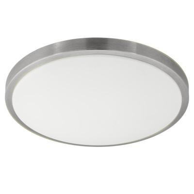 Eglo COMPETA 1 96034 Настенно-потолочный светильниккруглые светильники<br>Светодиодный настенно-потолочный светильник COMPETA 1, 24W(LED), ?430, сталь, белый/пластик, белый, никель мат. применяется преимущественно в домашнем освещении с использованием стандартных выключателей и переключателей для сетей 220V.<br><br>S освещ. до, м2: 10<br>Цветовая t, К: 3000<br>Тип лампы: LED - светодиодная<br>Тип цоколя: LED<br>Цвет арматуры: белый<br>Количество ламп: 1<br>Диаметр, мм мм: 430<br>Высота, мм: 55<br>MAX мощность ламп, Вт: 24