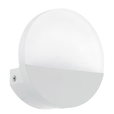 Eglo METRASS 1 96039 Настенный браХай-тек<br>Светодиодное бра METRASS 1, 5W(LED), L130, H130, алюминий, белый/пластик, матовый применяется преимущественно в домашнем освещении с использованием стандартных выключателей и переключателей для сетей 220V.<br><br>Цветовая t, К: 3000<br>Тип лампы: LED - светодиодная<br>Тип цоколя: LED<br>Цвет арматуры: белый<br>Количество ламп: 1<br>Глубина, мм: 50<br>Длина, мм: 130<br>Высота, мм: 130<br>MAX мощность ламп, Вт: 5