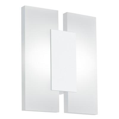 Eglo METRASS 2 96042 Настенно-потолочный светильникКвадратные<br>Светодиодное бра METRASS 2, 2х5W(LED), L170, H200, алюминий, белый/пластик, матовый применяется преимущественно в домашнем освещении с использованием стандартных выключателей и переключателей для сетей 220V.<br><br>S освещ. до, м2: 4<br>Цветовая t, К: 3000<br>Тип лампы: LED - светодиодная<br>Тип цоколя: LED<br>Количество ламп: 2<br>MAX мощность ламп, Вт: 5<br>Глубина, мм: 55<br>Длина, мм: 170<br>Высота, мм: 200<br>Цвет арматуры: белый