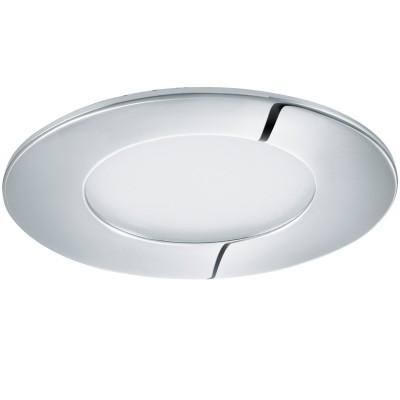 Eglo FUEVA 1 96054 Светильник для ванной комнатыВ ванную<br>Светодиодная ультратонкая встраиваемая панель FUEVA 1, 2,7W (LED) 4000K, ?85, IP44, хром применяется преимущественно в домашнем освещении с использованием стандартных выключателей и переключателей для сетей 220V.<br><br>Цветовая t, К: 4000<br>Тип лампы: LED - светодиодная<br>Тип цоколя: LED<br>Количество ламп: 1<br>MAX мощность ламп, Вт: 3<br>Диаметр, мм мм: 85<br>Цвет арматуры: серебристый хром