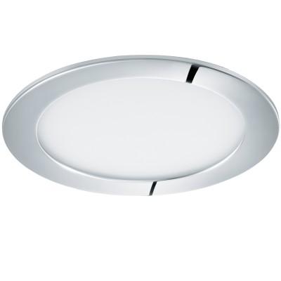 Eglo FUEVA 1 96055 Светильник для ванной комнатыВ ванную<br>Светодиодная ультратонкая встраиваемая панель FUEVA 1, 11W (LED) 3000K, ?170, IP44, хром применяется преимущественно в домашнем освещении с использованием стандартных выключателей и переключателей для сетей 220V.<br><br>Цветовая t, К: 3000<br>Тип лампы: LED - светодиодная<br>Тип цоколя: LED<br>Цвет арматуры: серебристый хром<br>Количество ламп: 1<br>Диаметр, мм мм: 170<br>MAX мощность ламп, Вт: 11