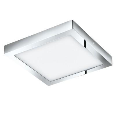 Eglo FUEVA 1 96059 Светильник для ванной комнатыДля ванной<br>Светодиодная ультратонкая накладная панель FUEVA 1, 22W (LED) 3000K, 300х300, IP44, хром применяется преимущественно в домашнем освещении с использованием стандартных выключателей и переключателей для сетей 220V.<br><br>Цветовая t, К: 3000<br>Тип лампы: LED - светодиодная<br>Тип цоколя: LED<br>Количество ламп: 1<br>Ширина, мм: 300<br>MAX мощность ламп, Вт: 22<br>Длина, мм: 300<br>Высота, мм: 40<br>Цвет арматуры: серебристый хром