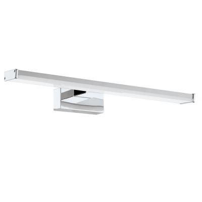 Eglo PANDELLA 1 96064 Светильник для ванной комнатыДля ванной<br>Светодиодный подсветка для зеркал PANDELLA 1, 7,4W(LED), L400, IP44, сталь, хром, серебро/пластик, белый применяется преимущественно в домашнем освещении с использованием стандартных выключателей и переключателей для сетей 220V.<br><br>Цветовая t, К: 4000<br>Тип лампы: LED - светодиодная<br>Тип цоколя: LED<br>Количество ламп: 1<br>MAX мощность ламп, Вт: 7<br>Глубина, мм: 160<br>Длина, мм: 400<br>Высота, мм: 40<br>Цвет арматуры: серебристый хром