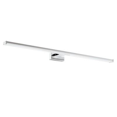 Eglo PANDELLA 1 96066 Светильник для ванной комнатыДля ванной<br>Светодиодный подсветка для зеркал PANDELLA 1, 14W(LED), L780, IP44, сталь, хром, серебро/пластик, белый применяется преимущественно в домашнем освещении с использованием стандартных выключателей и переключателей для сетей 220V.<br><br>Цветовая t, К: 4000<br>Тип лампы: LED - светодиодная<br>Тип цоколя: LED<br>Цвет арматуры: серебристый хром<br>Количество ламп: 1<br>Глубина, мм: 160<br>Длина, мм: 780<br>Высота, мм: 40<br>MAX мощность ламп, Вт: 14