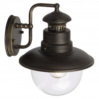 Светильник уличный Brilliant 96128/86 ArtuНастенные<br>Зачастую мы ищем идеальное освещение для своего дома и уделяем этому достаточно много времени. Так, например, если нам нужен светильник с количеством ламп - 1 и цвет плафонов должен быть - неокрашенный, а материал плафонов только стекло! То нам, как вариант, подойдет модель - светильник уличный Brilliant 96128/86.<br><br>S освещ. до, м2: до 4<br>Тип лампы: накаливания / энергосбережения / LED-светодиодная<br>Тип цоколя: E27<br>Цвет арматуры: золотой<br>Количество ламп: 1<br>Ширина, мм: 215<br>Высота, мм: 270<br>MAX мощность ламп, Вт: 60