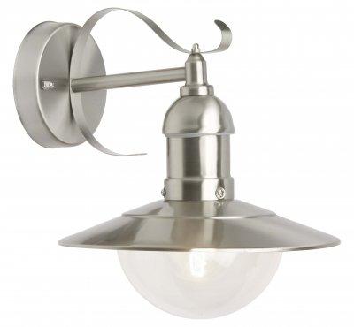 Светильник уличный Brilliant 96129/82 ArtoУличные настенные светильники<br>Зачастую мы ищем идеальное освещение для своего дома и уделяем этому достаточно много времени. Так, например, если нам нужен светильник с количеством ламп - 1 и цвет плафонов должен быть - неокрашенный, а материал плафонов только полимер! То нам, как вариант, подойдет модель - светильник уличный Brilliant 96129/82.<br><br>S освещ. до, м2: до 4<br>Тип лампы: накаливания / энергосбережения / LED-светодиодная<br>Тип цоколя: E27<br>Цвет арматуры: серебристый<br>Количество ламп: 1<br>Ширина, мм: 240<br>Высота, мм: 270<br>MAX мощность ламп, Вт: 60