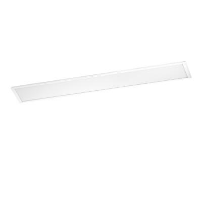Eglo SALOBRENA 1 96151 Встраиваемый светильникВстраиваемые<br>Светодиодный растровый светильник SALOBRENA 1, 40W(LED), L1200, алюминий, белый/пластик, белый, нейтр. свет применяется преимущественно в домашнем освещении с использованием стандартных выключателей и переключателей для сетей 220V.<br><br>Цветовая t, К: 4000<br>Тип лампы: LED - светодиодная<br>Тип цоколя: LED<br>Цвет арматуры: белый<br>Количество ламп: 1<br>Ширина, мм: 300<br>Длина, мм: 1200<br>Высота, мм: 11<br>MAX мощность ламп, Вт: 40