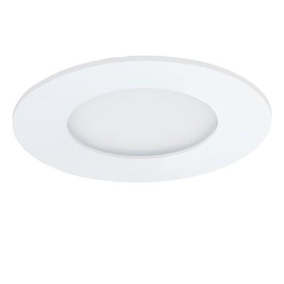 Eglo FUEVA 1 96163 Светильник для ванной комнатыКруглые<br>Светодиодная ультратонкая встраиваемая панель FUEVA 1, 2,7W (LED) 3000K, ?85, IP44, белый применяется преимущественно в домашнем освещении с использованием стандартных выключателей и переключателей для сетей 220V.<br><br>S освещ. до, м2: 1<br>Тип товара: Светильник для ванной комнаты<br>Цветовая t, К: 3000<br>Тип лампы: LED - светодиодная<br>Тип цоколя: LED<br>Количество ламп: 1<br>MAX мощность ламп, Вт: 3<br>Диаметр, мм мм: 85<br>Цвет арматуры: белый