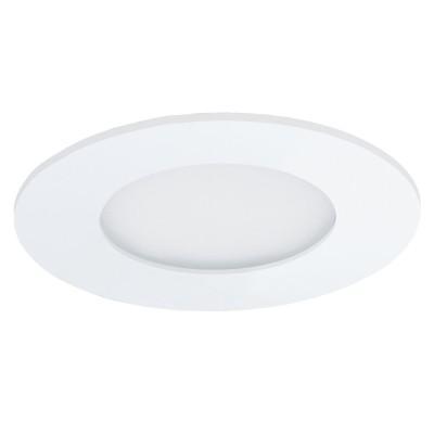 Eglo FUEVA 1 96164 Светильник для ванной комнатыКруглые<br>Светодиодная ультратонкая встраиваемая панель FUEVA 1, 2,7W (LED) 4000K, ?85, IP44, белый применяется преимущественно в домашнем освещении с использованием стандартных выключателей и переключателей для сетей 220V.<br><br>S освещ. до, м2: 1<br>Цветовая t, К: 4000<br>Тип лампы: LED - светодиодная<br>Тип цоколя: LED<br>Количество ламп: 1<br>MAX мощность ламп, Вт: 3<br>Диаметр, мм мм: 85<br>Цвет арматуры: белый