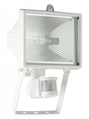 Светильник уличный с датчиком Brilliant G96164/05 TankoГалогенные<br>Зачастую мы ищем идеальное освещение для своего дома и уделяем этому достаточно много времени. Так, например, если нам нужен светильник с количеством ламп - 1 и цвет плафонов должен быть - белый, а материал плафонов только стекло! То нам, как вариант, подойдет модель - светильник уличный Brilliant G96164/05.<br><br>S освещ. до, м2: до 26<br>Тип лампы: галогенная / LED-светодиодная<br>Тип цоколя: R7s<br>Количество ламп: 1<br>MAX мощность ламп, Вт: 400<br>Высота, мм: 250<br>Цвет арматуры: белый