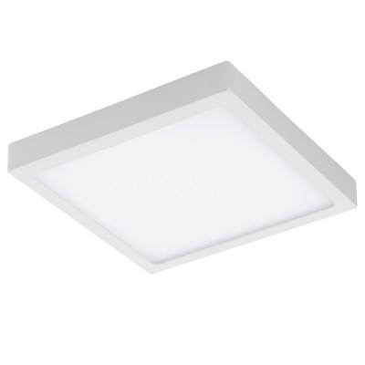 Eglo FUEVA 1 96169 Светильник для ванной комнатыДля ванной<br>Светодиодная ультратонкая накладная панель FUEVA 1, 22W (LED) 3000K, 300х300, IP44, белый применяется преимущественно в домашнем освещении с использованием стандартных выключателей и переключателей для сетей 220V.<br><br>Цветовая t, К: 3000<br>Тип лампы: LED - светодиодная<br>Тип цоколя: LED<br>Цвет арматуры: белый<br>Количество ламп: 1<br>Ширина, мм: 300<br>Длина, мм: 300<br>Высота, мм: 40<br>MAX мощность ламп, Вт: 22