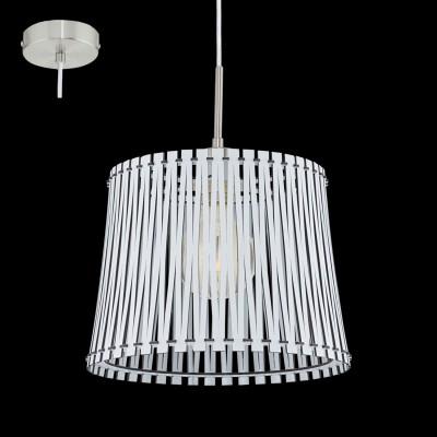 Eglo SENDERO 96184 Подвесной светильникОдиночные<br>Подвес SENDERO, 1х60W(E27), ?300, сталь, белый/дерево, белый  применяется преимущественно в домашнем освещении с использованием стандартных выключателей и переключателей для сетей 220V.<br><br>S освещ. до, м2: 3<br>Тип цоколя: E27<br>Цвет арматуры: белый<br>Количество ламп: 1<br>Диаметр, мм мм: 300<br>Высота, мм: 1100<br>MAX мощность ламп, Вт: 60