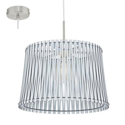 Eglo SENDERO 96185 Подвесной светильникОдиночные<br>Подвес SENDERO, 1х60W(E27), ?380, сталь, белый/дерево, белый  применяется преимущественно в домашнем освещении с использованием стандартных выключателей и переключателей для сетей 220V.<br><br>S освещ. до, м2: 3<br>Тип цоколя: E27<br>Количество ламп: 1<br>MAX мощность ламп, Вт: 60<br>Диаметр, мм мм: 380<br>Высота, мм: 1100<br>Цвет арматуры: белый