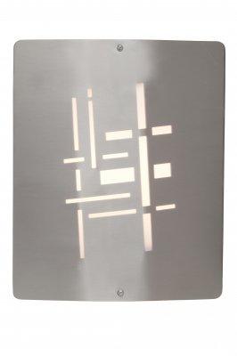 Светильник уличный Brilliant 96195/82 SondraНастенные<br>Зачастую мы ищем идеальное освещение для своего дома и уделяем этому достаточно много времени. Так, например, если нам нужен светильник с количеством ламп - 1 и цвет плафонов должен быть - , а материал плафонов только пластик! То нам, как вариант, подойдет модель - светильник уличный Brilliant 96195/82.<br><br>S освещ. до, м2: до 1<br>Тип товара: Светильник уличный<br>Скидка, %: 48<br>Тип лампы: накаливания / энергосбережения / LED-светодиодная<br>Тип цоколя: E27<br>Количество ламп: 1<br>Ширина, мм: 225<br>MAX мощность ламп, Вт: 28<br>Высота, мм: 270<br>Цвет арматуры: серебристый